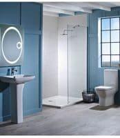 Tavistock Structure Close Coupled WC Pan, Cistern & Soft Close Seat